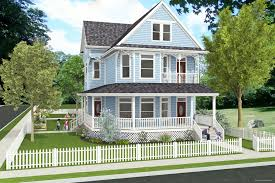 front house balcony garage building plans online 74775