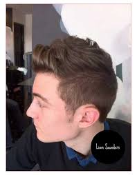 mens short punk hairstyles or mens short back and sides brown hair