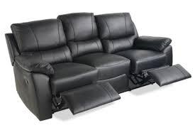 Leather Recliner Sofa 3 2 Stylish Amazing Black Leather Reclining Sofa With Photo Of Black