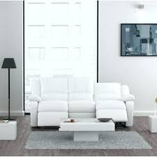 canapé relaxation cuir canape relax simili cuir blanc canapa sofa divan canapac