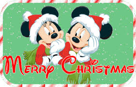 merry christmas mickey mouse glitter