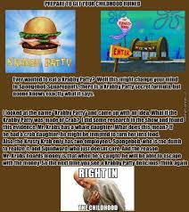 Spongebob Krabby Patty Meme - the krabby patty secret formula by dasolidcow meme center