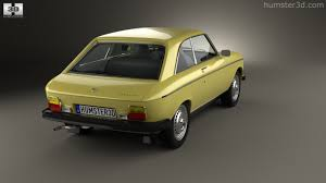peugeot yellow 360 view of peugeot 304 coupe 1970 3d model hum3d store