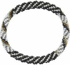 beaded bracelet girl images Nepal glass beaded bracelets lotus sky jewelry jpg