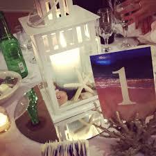 Lantern Centerpieces Wedding Beach Wedding Lantern Centerpieces