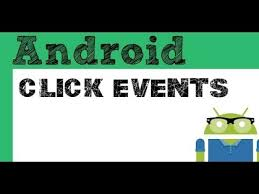 android onclick click events and button onclick android studio tutorial tune pk