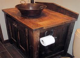 Barnwood Bathroom Vanity 30 Exles Of The Reclaimed Wood Vanity