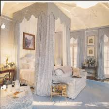 Wall Canopy Bed by Beige Stainless Steel Canopy Bed On Stripped Area Rug Elegant