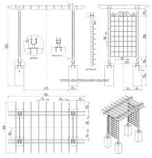 garden arbor plans