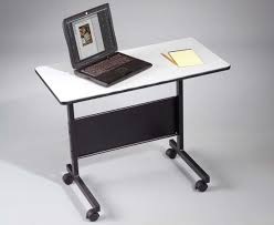 wonderful movable computer desk steel frame material wood and