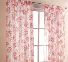 Patterned Window Curtains Coral Patterned Curtains Interiors Awesome Coral Patterned