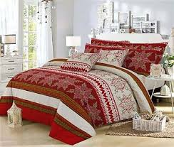 Cherry Duvet Cover Greatknot Persian Cherry Duvet Cover Set Poly Cotton Easy Care Bed