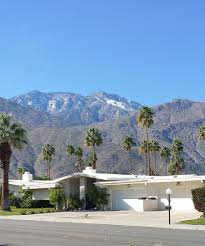 One Story Ranch Style Homes Palm Springs Getaway In My Own Style