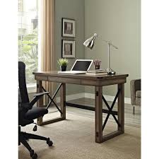 Home Office Writing Desks by Gray Desks Home Office Furniture The Home Depot