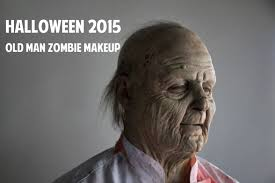 Old Man Halloween Makeup by Halloween