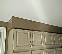 Kitchen Cabinet Cornice What Is The Name For This Block Between The Ceiling And The