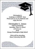 8th grade graduation invitations middle school announcements and