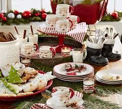 pottery barn christmas table decorations pottery barn decorating ideas for a chic and cozy christmas atmosphere