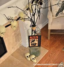 halloween mantel decor celebrate u0026 decorate