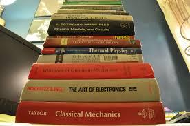 my undergrad bookshelf post your own physics