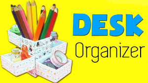 Desk Pencil Holder Diy Supplies Diy Desk Organizer Diy Pencil Holder Youtube