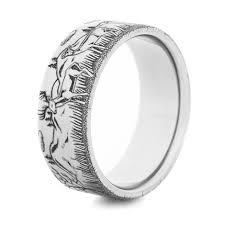 family rings for the deer family ring unique titanium rings more titanium buzz