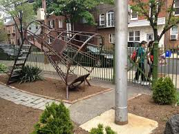 rocket ship playground george w nebinger philadelphia playscapes