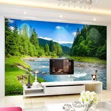 3d Wallpaper For Living Room by Online Get Cheap Nature Wallpaper Backgrounds Aliexpress Com