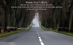 lord guide me daily bible verses psalm 25 4 5