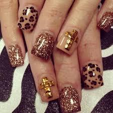 15 cheetah or leopard nail designs hative