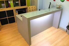 How To Make A Reception Desk Furniture How To Build A Desk From Scratch Treadmill Base Only