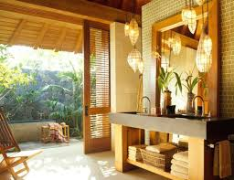 Pendant Light In Bathroom Bathroom Lighting Pendants View In Gallery An Open Vanity Design