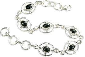 black onyx silver bracelet images Black onyx bracelets black onyx silver bracelets black onyx jpg