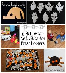 Halloween Pre K Crafts Halloween Activities For Preschoolers