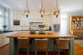 traditional kitchen islands green island kitchen style with pendant lighting traditional