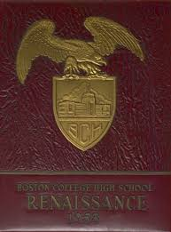 classmates college yearbooks explore 1953 boston college high school yearbook boston ma