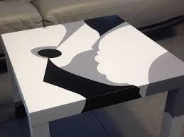 Materiel Relooking Pas Cher Relooking D U0027une Table Basse Lack Bidouilles Ikea