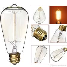 incandescent light bulb specifications wholesale 60w 110v 220v e27 incandescent bulb warm white light retro