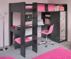 lit superpos combin bureau charmant lit combine bureau fille 2 lit mezzanine fille