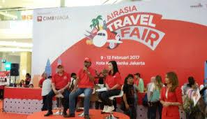 airasia travel fair mulai besok airasia buka promo harga tiket pesawat rp 0 bisnis