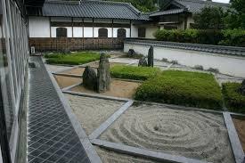 zen gardens pictures monk meditating by zen rock garden zen garden