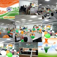 My National Flag Office Decoration Symbolizing Acro Technologies Office Photo