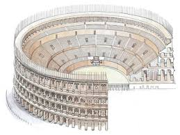 drawing of colosseum architecture google search italy craft