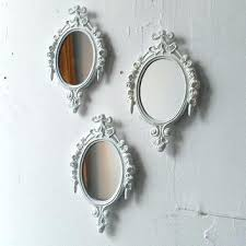 Shabby Chic Large Mirror by Wall Mirror Antique White Oval Wall Mirror White Oval Shabby