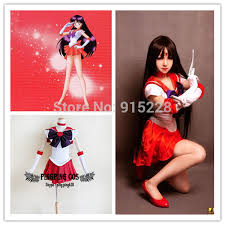 Sailor Mars Halloween Costume Sailor Moon Cosplay Sailor Mars Hino Rei Cosplay Costumes Size