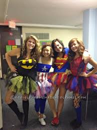 awesome halloween group costumes for all girls groups
