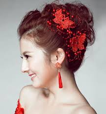 butterfly for hair headdress korean jewelry headdress flower dish hair