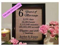 6th wedding anniversary gift ideas unique 6th wedding anniversary gift b28 on images gallery m78 with