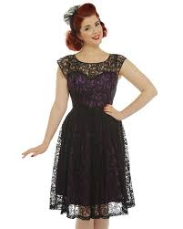 black lace dress blair purple and black lace evening dress