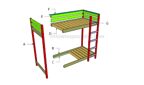 Toddler Bunk Bed Plans Toddler Bunk Bed Plans Howtospecialist How To Build Step By